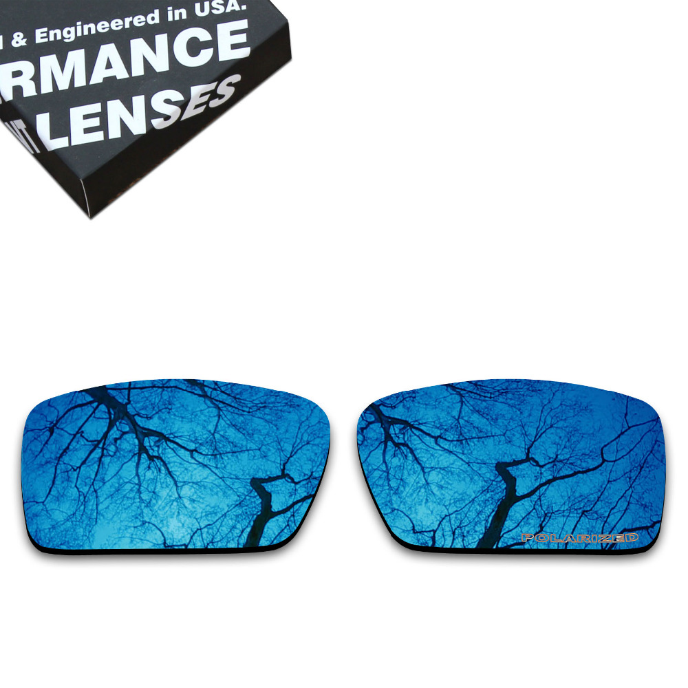 d46acf21d2 ToughAsNails Resist Seawater Corrosion Polarized Replacement Lenses for  Oakley Gascan Sunglasses Sapphire (Lens Only)