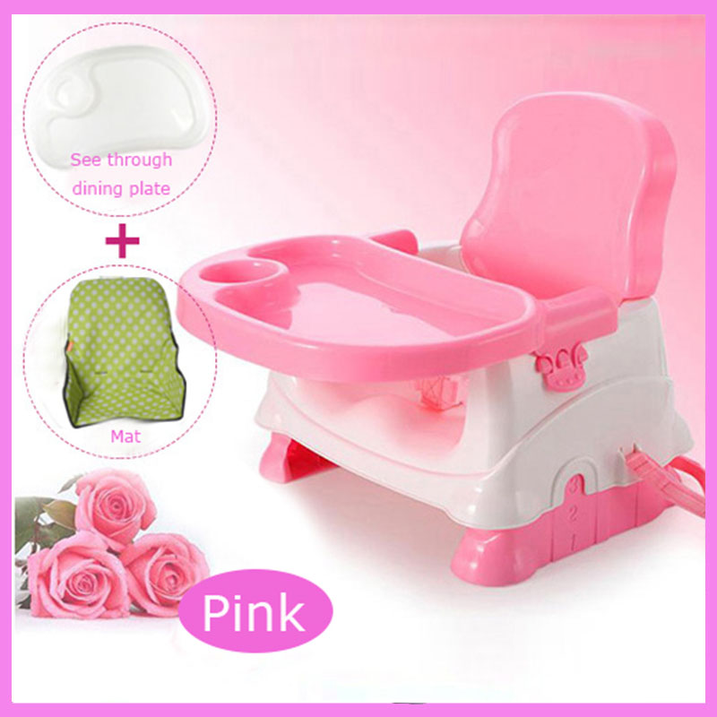 Mini Plastic Baby Dining Chair Enfant Multifunctional Dining Table Chair Portable Foldable Small Baby Booster Seat Eating Chair pouch baby dining chair multi functional portable foldable baby food chair plastic baby dinette children s dining chair pouch