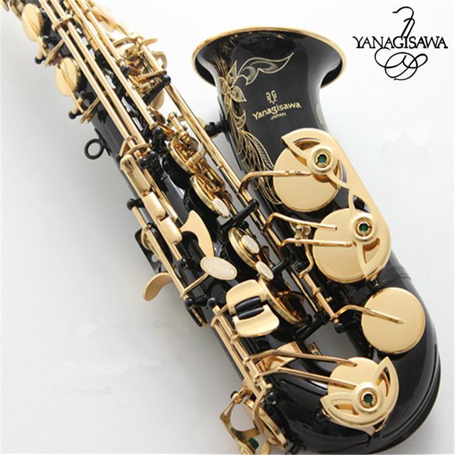 Professional Japan Yanagisawa Gold Plated Carving Saxophone Alto Eb Sax Brass Instruments Music Saxofone Alto A-991 купить в Москве 2019