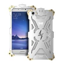 Simon Metal Aluminum Tough Armor THOR IRON MAN Phone case back Cover for Xiaomi mi3 mi4 mi5 mi4i mi4c mi4s Redmi Note 1 2 3 4