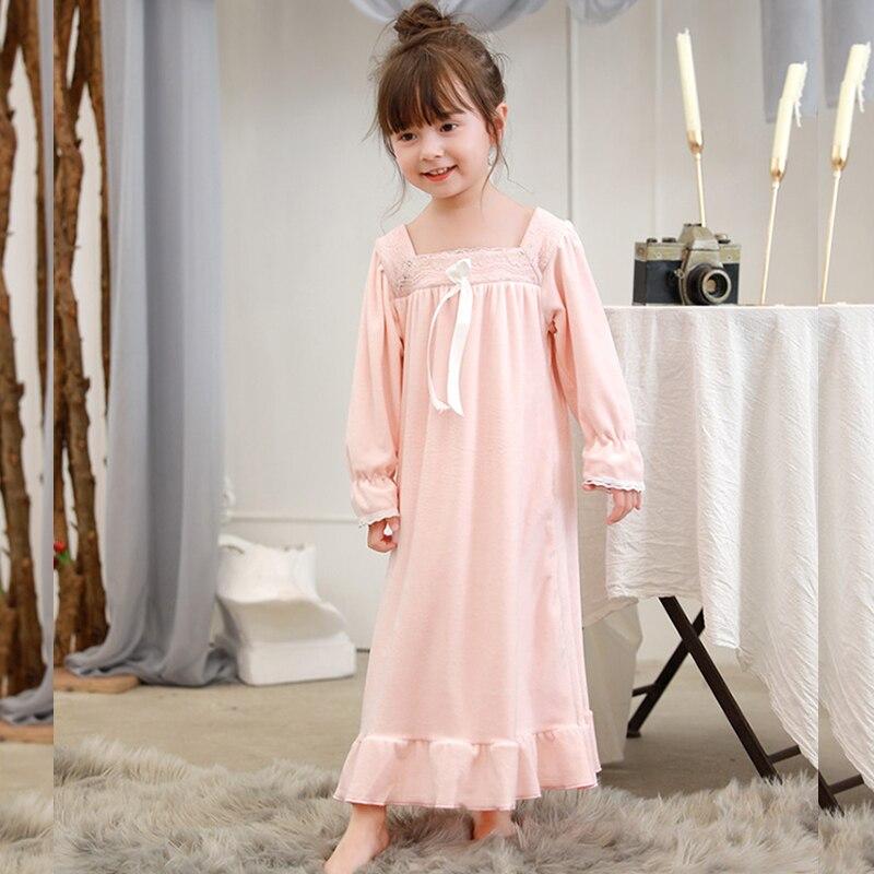 Camicie Da Notte Per Le Ragazze Camicia Da Notte Per Bambini Camicie Da Notte Per Bambini Delle Ragazze Di Usura Di Sonno 8236 Saldi Estivi Speciali