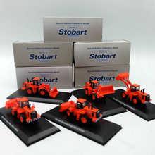 5 stks Atlas 1:76 Bouwvoertuigen Bulldozer Eddie Stobart Rail Doosan Daewoo Mega 300 V W054 Diecast Modellen Speelgoed Collectie