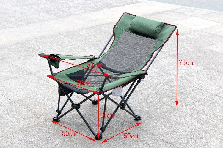 Pique nique chaise de voyage Alpinisme loisirs chaise bleu vert gris couleur Tourisme pêche tabouret livraison gratuite dans Chaises de plage de Meubles