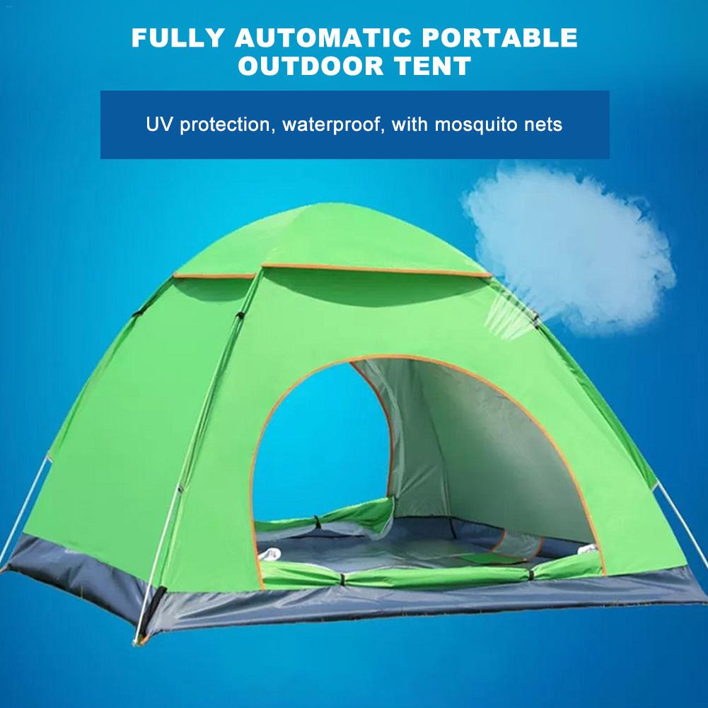 Large Throw Tent Outdoor 3-5persons Automatic Speed Open Throwing Pop Up Windproof Waterproof Beach Camping Tent Large SpaceLarge Throw Tent Outdoor 3-5persons Automatic Speed Open Throwing Pop Up Windproof Waterproof Beach Camping Tent Large Space