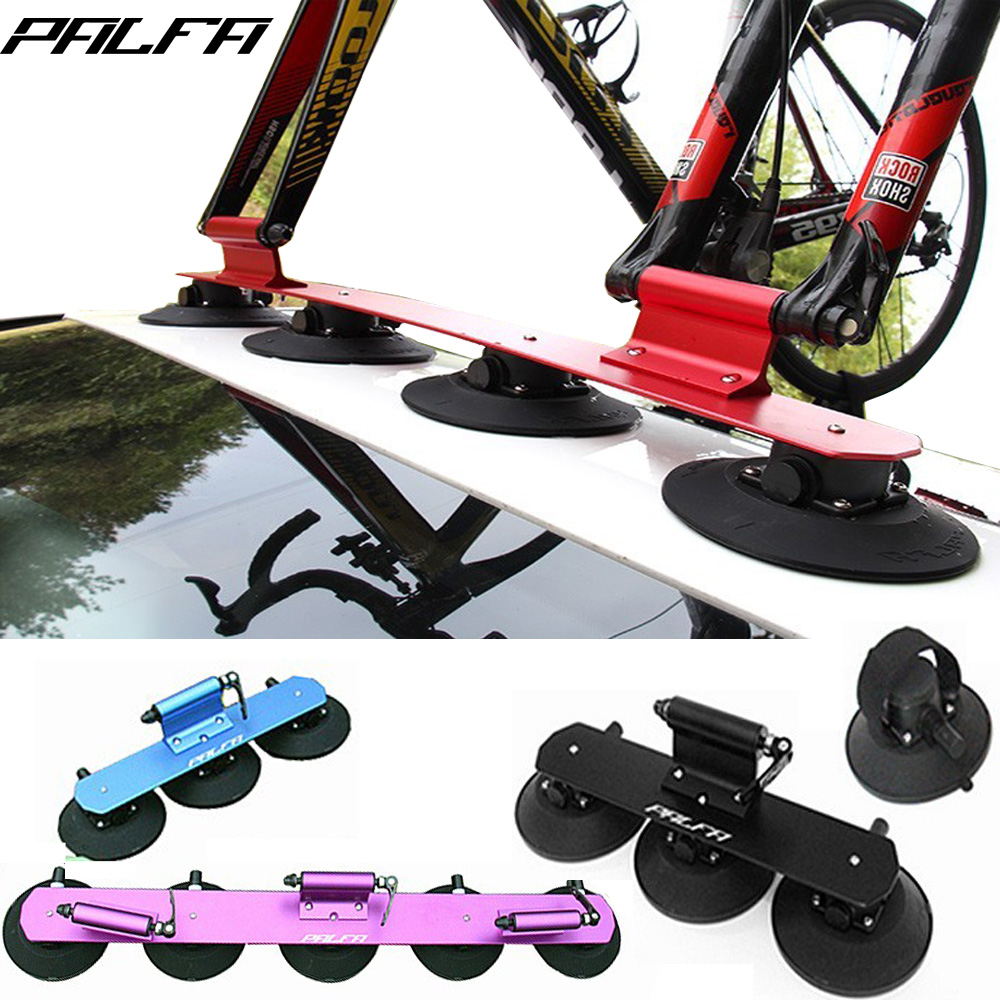Palfa Bicycle Rack Roof Top Suction Bike Car Rack Carrier