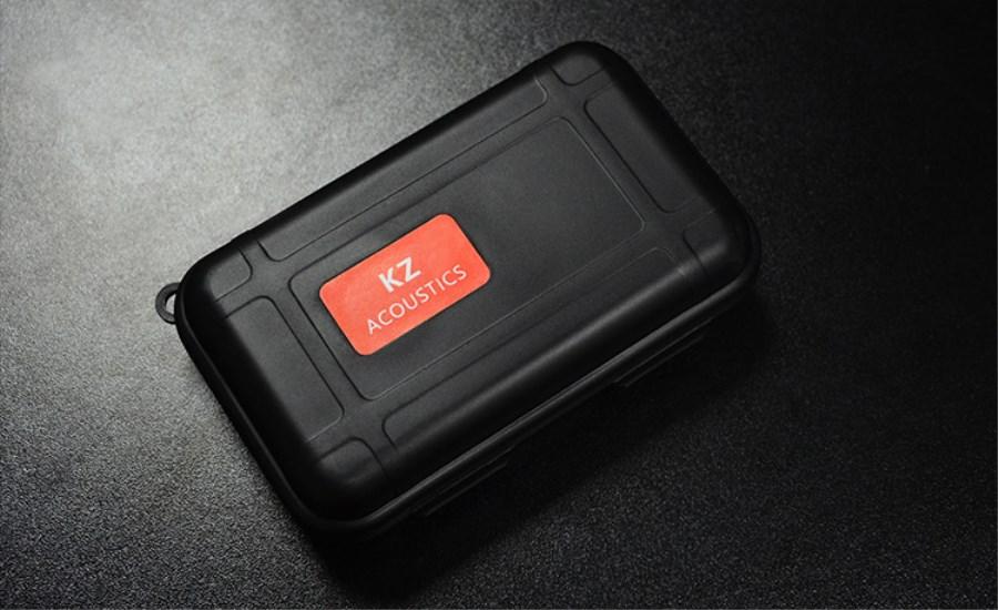 KZ High End Earphone Compressive Damping Box Drop Resistance Protective Case Portable Earphone Case Headphone Accessories