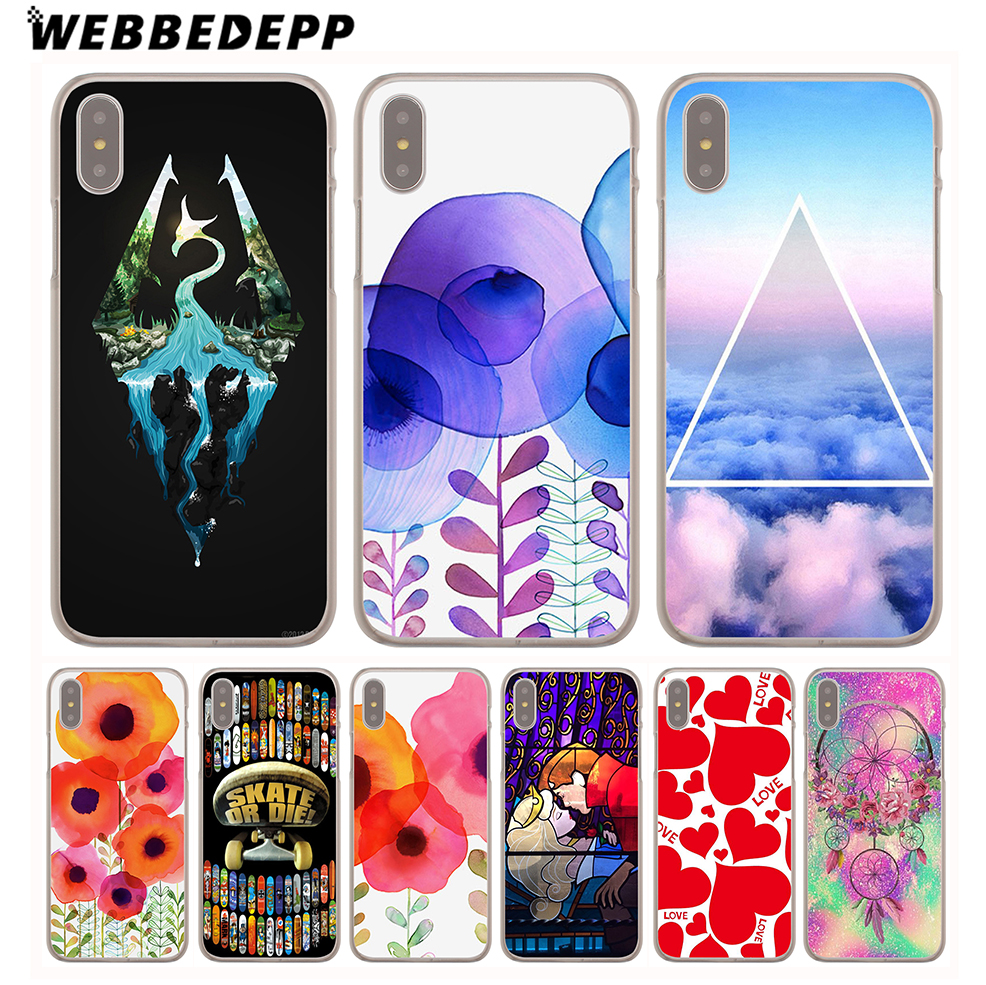 Webbedepp skyrim video game symbols hard cover case for iphone 8 7 webbedepp skyrim video game symbols hard cover case for iphone 8 7 plus 6 6s plus 5 5s se 5c 4 4s x10 in half wrapped case from cellphones biocorpaavc Choice Image