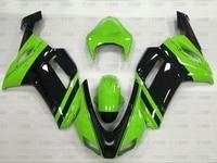 Ninja Zx 6r 08 Full Body Kits Ninja Zx 6r 2007 2008 Green Black Fairing Zx6r 2008 Fairing