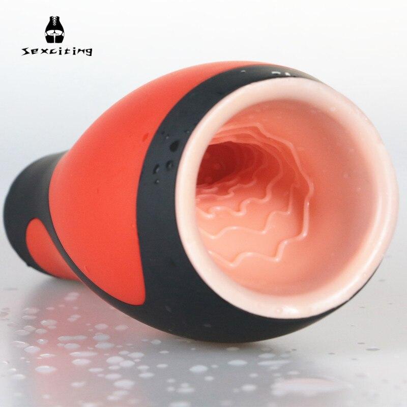 Elektrische Blasen Maschine 30 Modi Vibrating Deep Throat Oralsex Masturbator Für Mann Männliche Masturbationschale Erwachsene Geschlechtsspielwaren