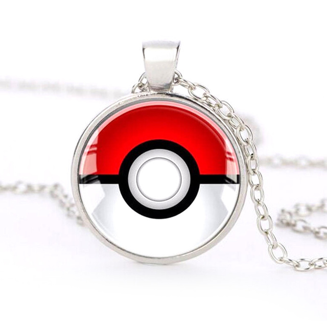 Brand New Pokemon Inspired Silver Collar Necklace