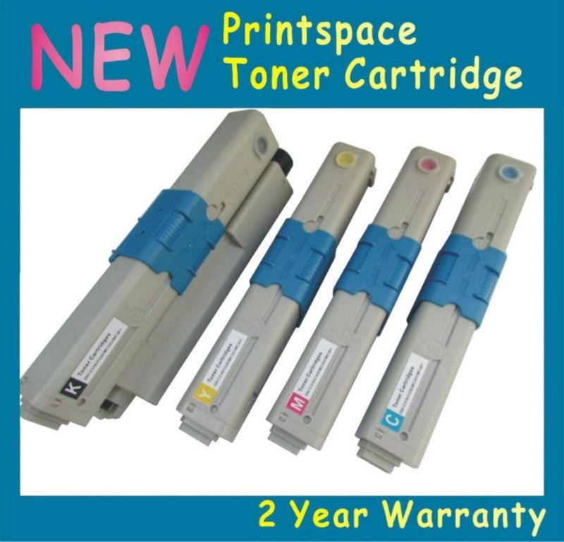 4x Toner Cartridges for OKI MC363 MC363dn C332 C332dn Printer 46508720 19 18 17 46508716 15