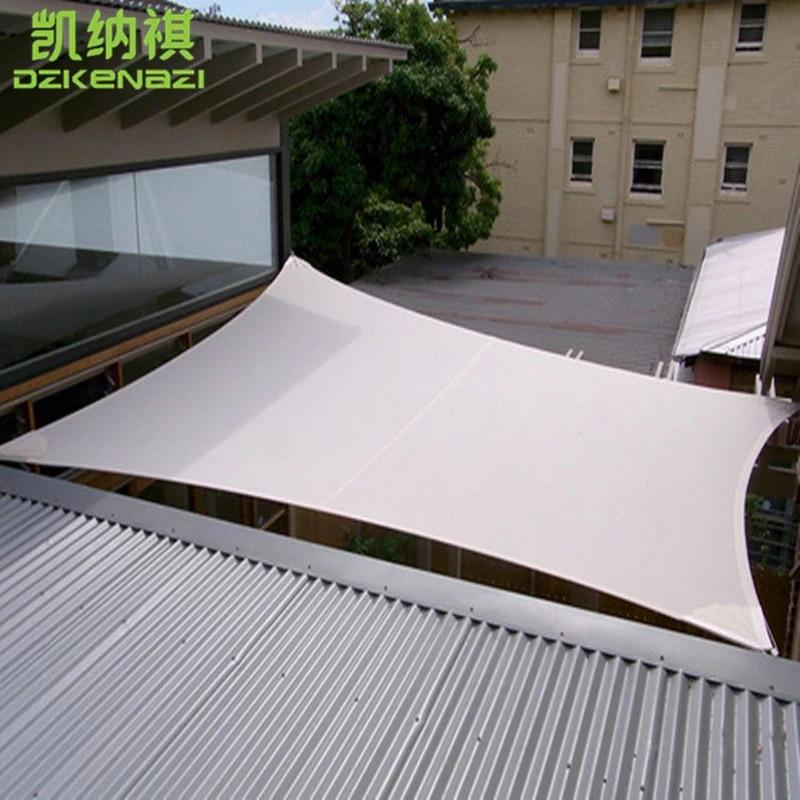 voile d ombrage en tissu impermeable pu auvent d exterieur pour piscine filet d ombrage 4x5 m pieces