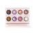 2017 Nova Cosméticos Asse Eyeshadow Make Up Palette 8 Cores Metallic Shimmer Smokey Sombra Pigmento Mineral Maquiagem Conjunto Kit