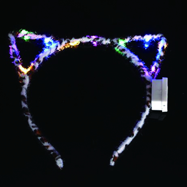 Wedding Decoration Led Bunny Ear Cat Ears Headbands Party Supplies Rave Flashing Birthday