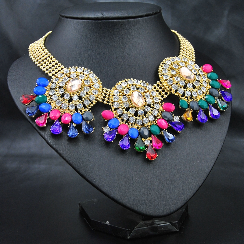 New 2014 Wholesale European Style Costume Wedding Brand Women Accessories Jewelry Fashion