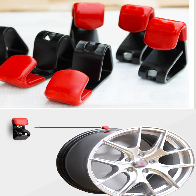 35kg Bear Tire Wheel Hub Hook Wheel Shop Display Stand Metal Holder Rack Wall Mounted Ra ...