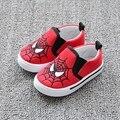 Niños de la Historieta de Superman Spiderman Zapatos Suaves del Lienzo Zapatos Sapato infantil Niño Niña Calzado Niño TX15