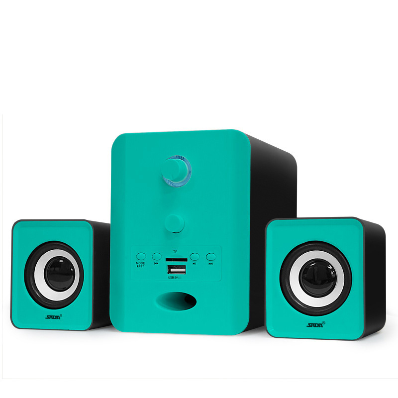 SADA D-223 Mini portátil Bluetooth TF FM Combinación de altavoz USB - Audio y video portátil - foto 2