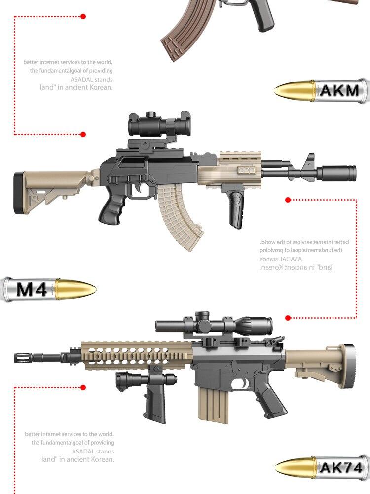 AK47 AK74 AKM ARC M4 M16 Pintura