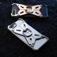 NILLKIN עבור iphone 7 בתוספת כיסוי פגוש 5.5 לשפר עדכון DIY מעמד מחזיק טלפון טבעת סגסוגת אלומיניום הכריכה האחורית עבור iPhone 7 בתוספת