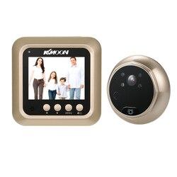 KKmoon 2,4 ЖК-цифровой глазок 160 градусов дверной звонок с дверным глазом HD ИК-камера ночное видение фото/запись видео
