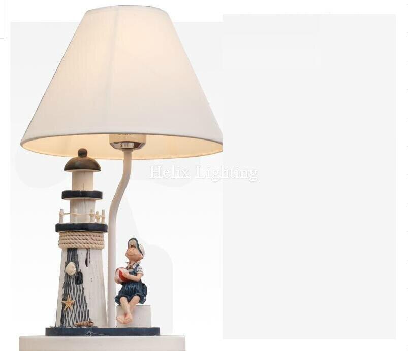 Nouveauté déco lampes de bureau chambre Table de chevet lampe nuit éclairage chambre d'enfants lumière Simple mode E27 lampe de Table éclairage