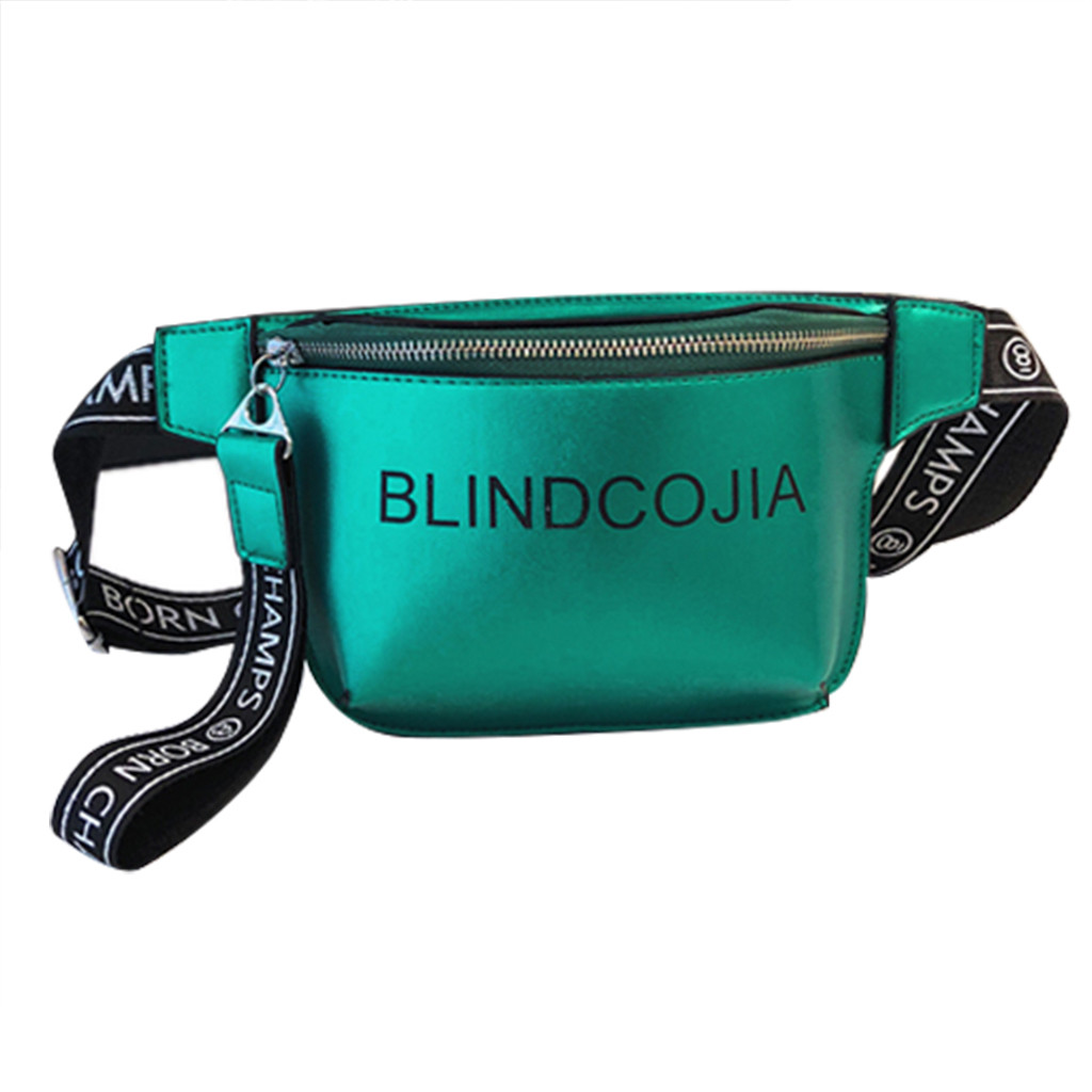 Waist Bag Women Waterproof Fanny Pack Letter Messenger Chest Belt Bag Female High Quality Casual Travel Handbag Bolsa Feminina