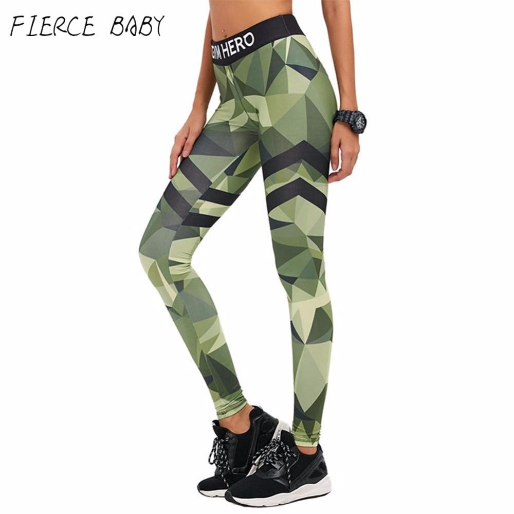 Prix pour Camouflage Fitness Leggings Femmes Sportives Leggings Femme Adventure Time Plus La Taille Sexy de Remise En Forme Legging Push Up 2017 Legins