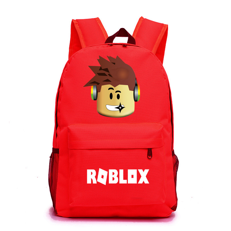 Roblox Game Boy School Bag  Backpack Student Book Bag Notebook Daily Backpack Mochila Boys Girls Gift #3