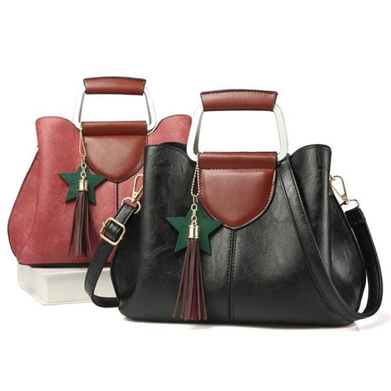 Top-handle Bags Cool Walker Bolsos Mujer Designer Handbags High Quality Pu Leather Handbags Women Famous Brands Ladies Shoulder Bags Tote Bag