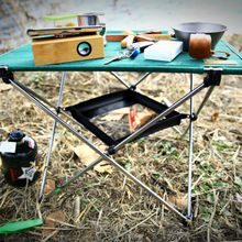 Outdoor Folding Table Storage Pouch Bag Picnic Portable Basket Hanging Mesh Camping Organizer outdoor tool