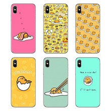 For Motorola Moto X4 E4 E5 G5 G5S G6 Z Z3 G3 C Play Plus Transparent Soft Shell Covers Japanese cartoon Lazy Egg Gudetama(China)