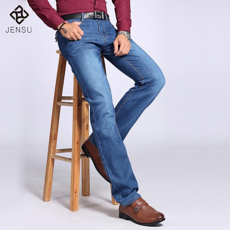 ФОТО 2016 Men Jeans Fashion Designer Autumn Summer Jeans Men Casual Denim Pants Trousers Men Jeans Famous Brand Plus Size