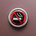 Автомобильная Наклейка Без предупреждение о запрете курения Logo для Audi A4 B5 B6 B8 A6 C5 C6 A3 A5 Q3 Q5 для BMW E46 E39 E90 E36 E60 E34 E30 F30 F10 E53
