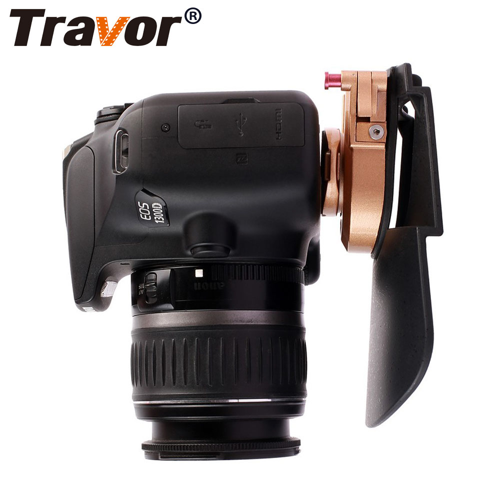 Travor Camera Belt Holster Clip Waist Holder PE + ABS + Metal Clip Holder Quick Release Plate for 1/4'' Pro DSLR Video cameras цена