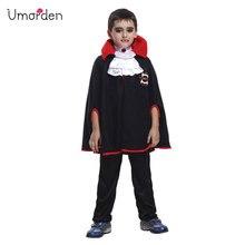 Umorden Halloween Costumes for Baby Boys Toddler Vampire Costume Cosplay Fancy Dress Cape