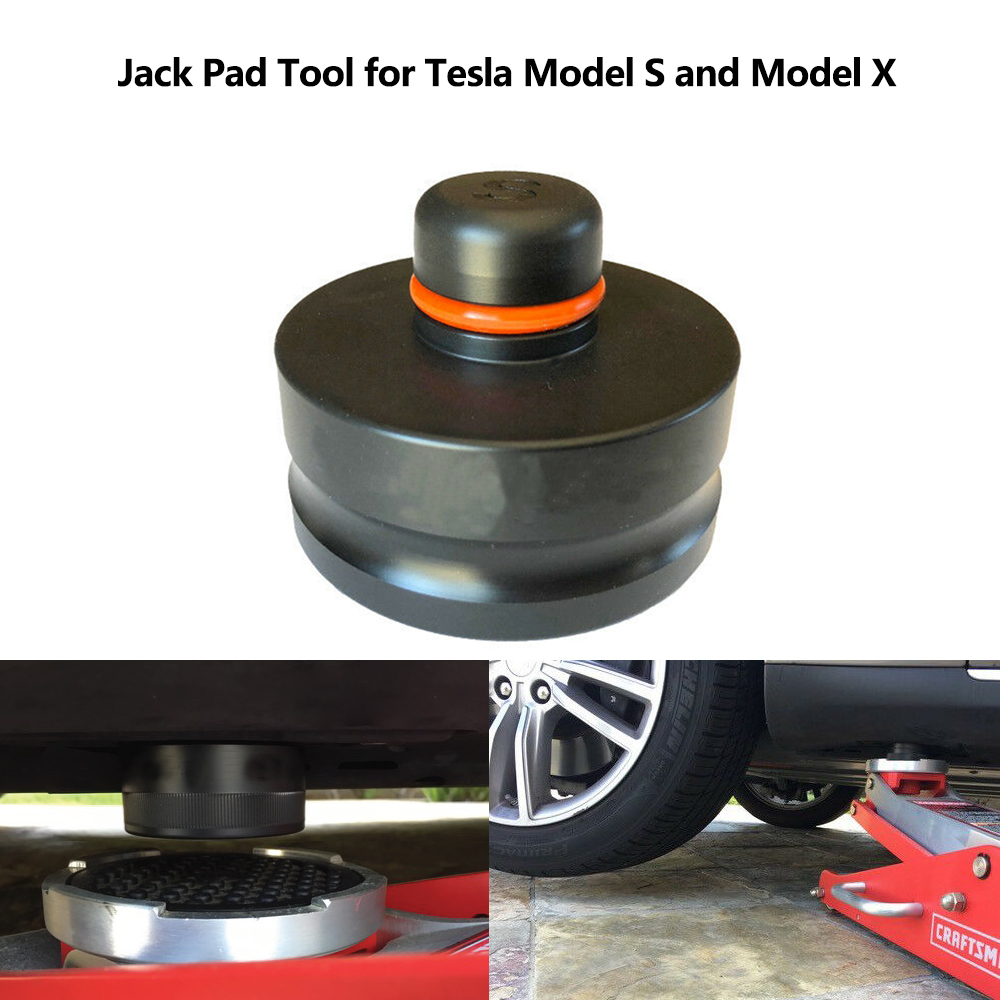 4pcs Car Styling Tools Jack Lift Point Pad Adapter Jack Pad Tool Chassis Dedicated For Tesla Model S For Tesla Model X