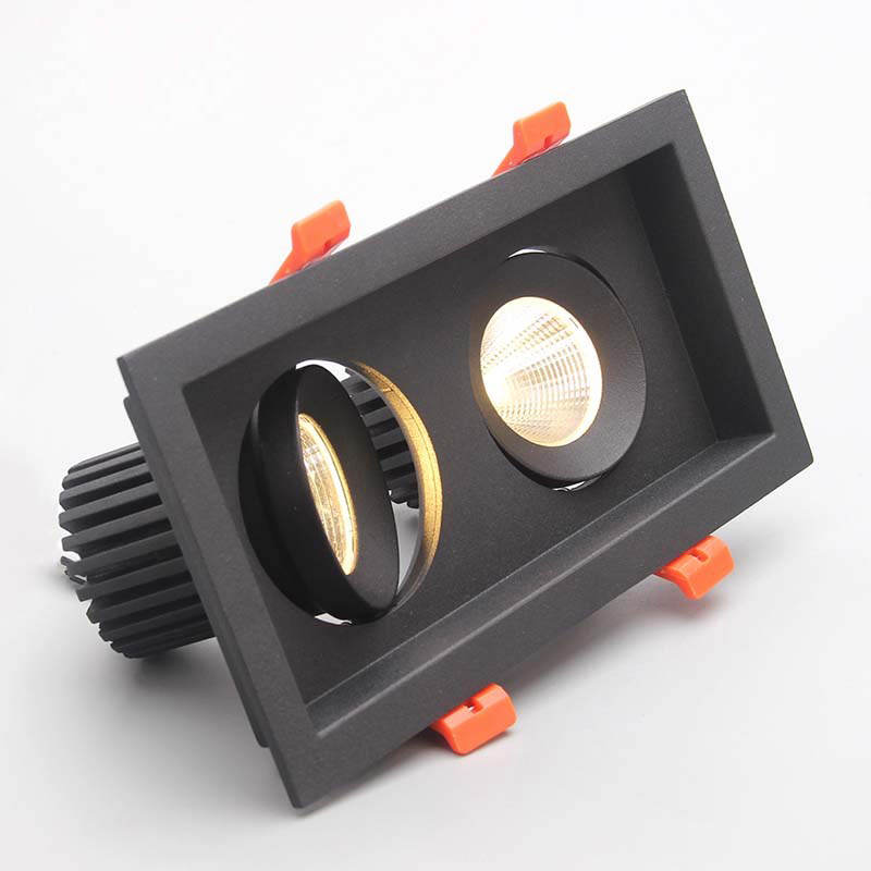 downlight com alta 40 w ajustavel qualidade recesso 05