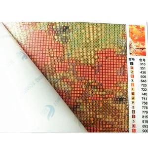 Image 2 - 5 יח\סט פרפר פרחי עיצוב הבית DIY יהלומי ציור צלב תפר קיר קישוט יהלומי רקמת Multigang דמות