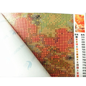 Image 2 - 5 sztuk/zestaw kwiaty motyle dekoracji wnętrz DIY diament malarstwo Cross Stitch dekoracje ścienne diament haft Multigang rysunek