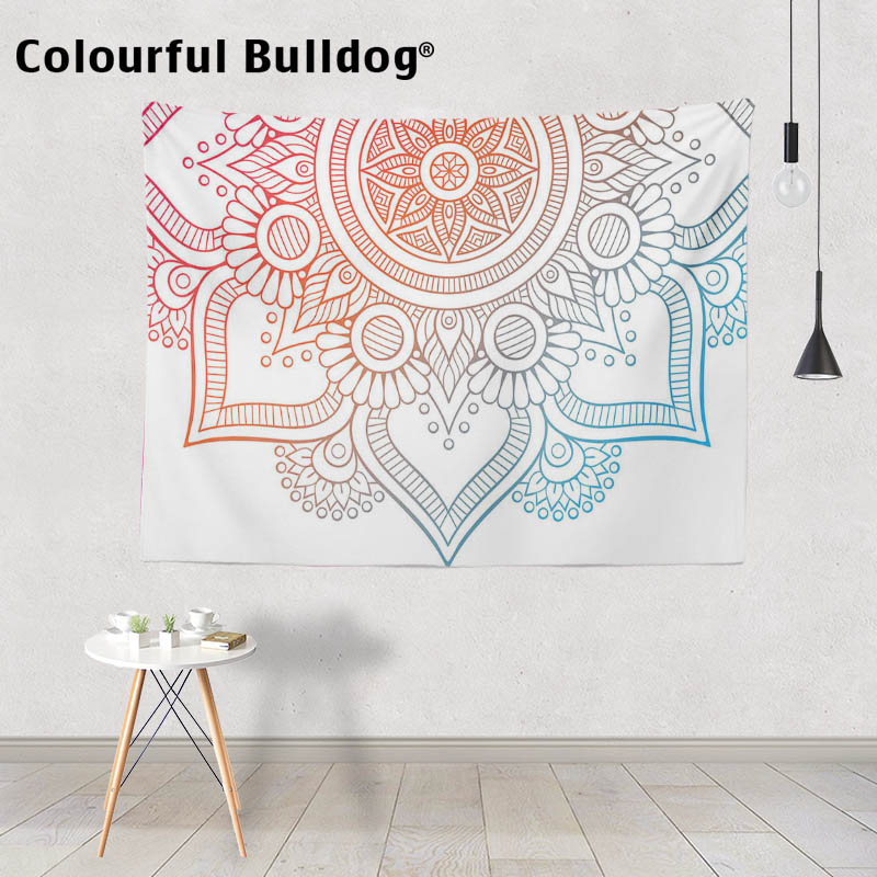 Vintage Boho Ethnic Wall Hanging Colorful Geometric