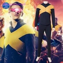 2019 New Movie X-Men: Black Phoenix Jean Grey Cosplay Character Tights Set 3D Digital Print Mens Clothing
