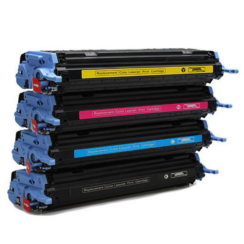 Q6000A Q6001A Q6002A Q6003A 124A Color toner Cartridge For HP Color LaserJet 1600 2600 2605 CM1015/1017 MFP printer 1 Set 4 pcs