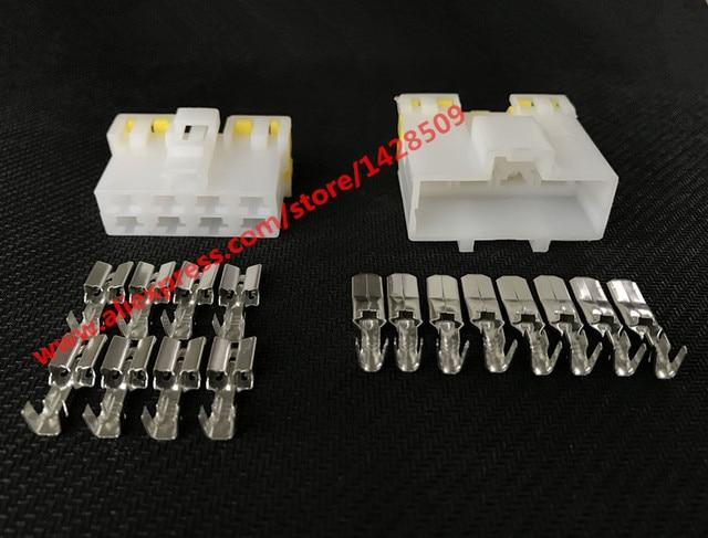 Awe Inspiring 10 Sets 8 Pin Way Automotive Connector Electrical Wiring Harness Wiring 101 Cranwise Assnl