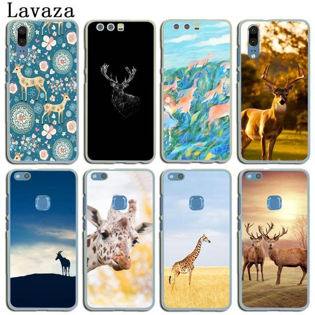 US $1 99 22% OFF|Lavaza pattern illustration giraffe Sika deer Case for  Huawei P20 P10 P9 Plus P8 Mate 20 Pro 10 Lite Mini 2016 2017 P smart  2019-in