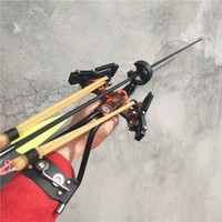 Laser Slingshot Outdoor Hunting Fishing Slingshot Catapult Shooting Fishing Arrow Large Power Slingshot with Arrow Re