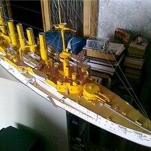Высокое качество войны Германия Shane Khost Scharnhorst бронированный крейсер бумажный модельный комплект