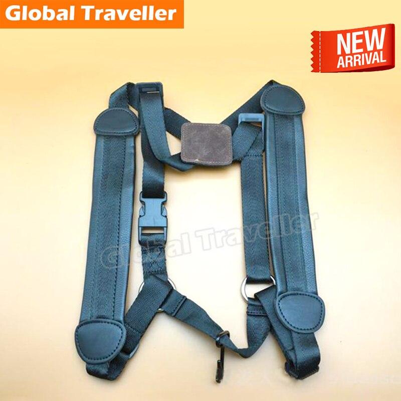 1 piece Leather shoulder Pads Bassoon Shoulder Strap Harness Padded winnwell gx 4 jr shoulder pads