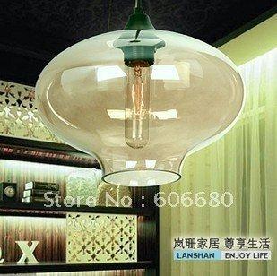 Free shipping 25CM European Modern Creative Glass Ball pendant light pendant lamp ceiling lamp( contemporary home decoration)