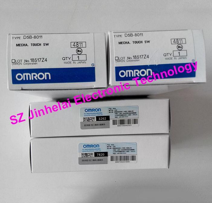 Authentic original OMRON MECHA.TOUCH SWITCH D5B-8011, D5B-8013 цена